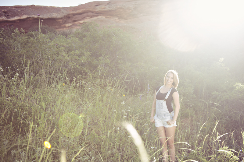 Red Rocks Senior Portraits