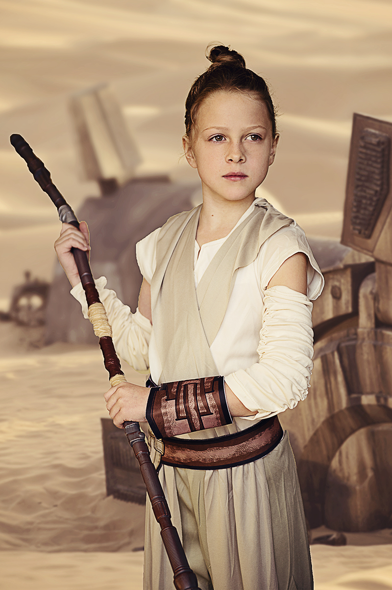 Rey Costume for Girls